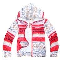 Moana Vaiana Okyanus Kış Coat Çocuk Romantizm Mercan Polar Çift Kat Pamuk Bebek Kız Noel Sıcak Ceket Kalın Hırka