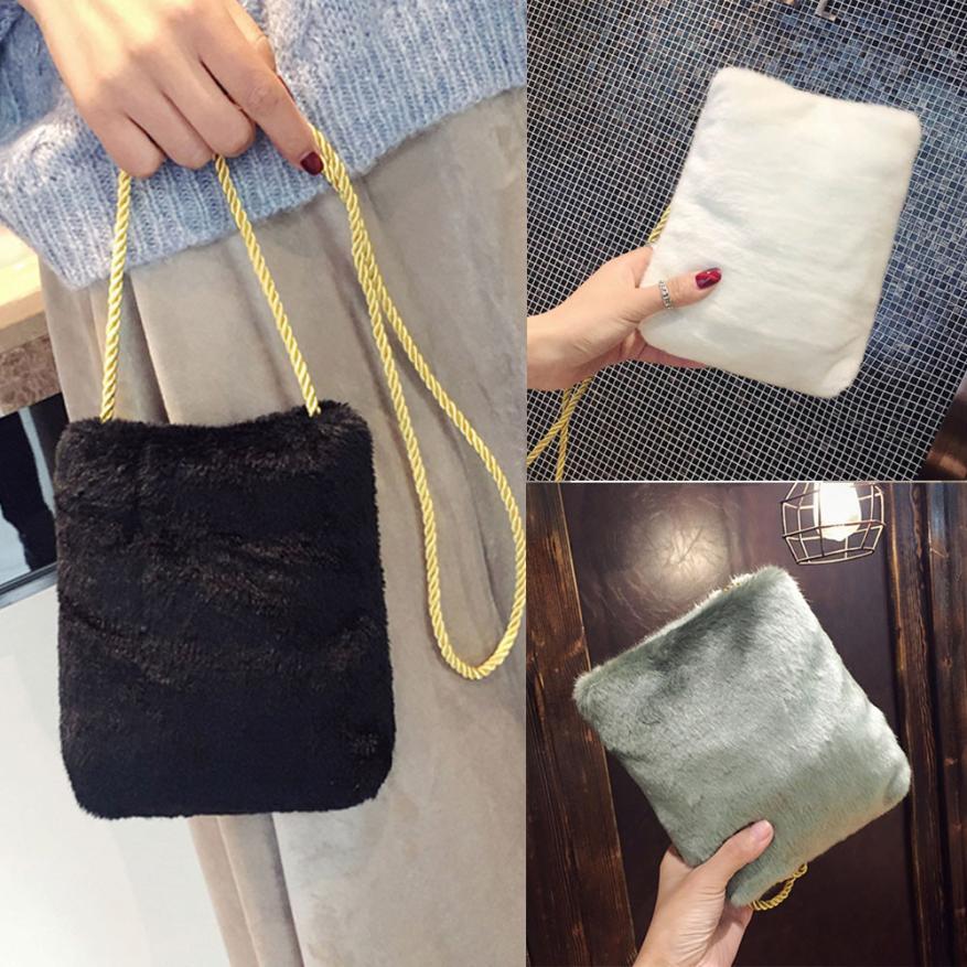 Molave Shoulder Bag new high quality Plush Fashion Able Handbag Small Messenger Phone Coin Bags shoulder bag women Mar15