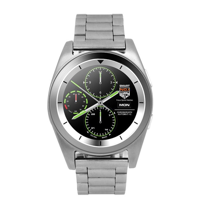 imágenes para HESTIA Originales G6 Reloj Inteligente Bluetooth 4.0 Monitor Del Ritmo Cardíaco Gimnasio Rastreador de Llamadas SMS Recordatorio Cámara Remoto para Android iOS