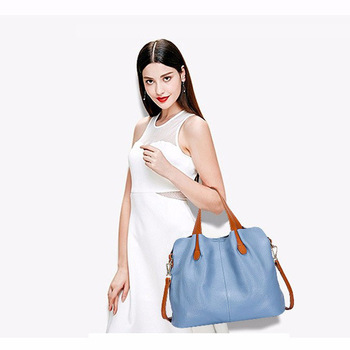 Fashion Genuine Leather Women bag women's handbag Shoulder lady's messenger bag luxury Designer crossbody bags for women ToteS