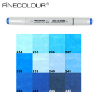 Finecolour Double Ended Artist Sketch Drawing Art Marker Sea And Sky
