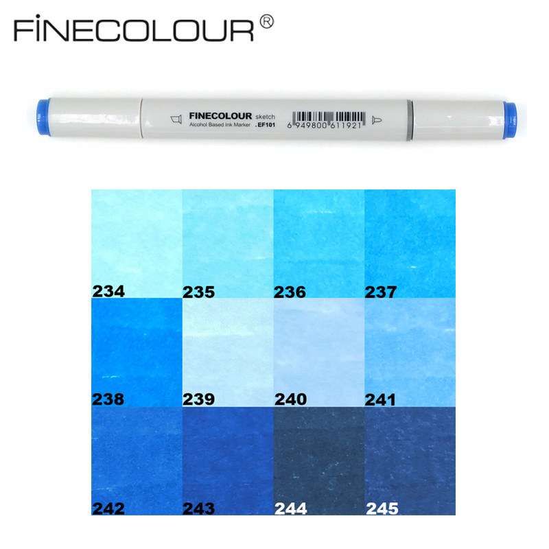 Finecolour markers Sea and Sky Color Double-Ended Art Marker Artist Sketch Drawing Marker Pen prognostic markers and cancer
