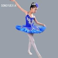 Kids' Professionele Ballet Kostuum Meisjes Zwanenmeer Ballet Kostuum Kinderen Ballerina Jurk Wit Blauw Roze