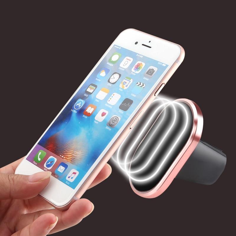 Магнитный автомобильный держатель телефона Air Vent магнит сотовый телефон стенд для GPS <font><b>IPhone</b></font> 6 HTC <font><b>Car</b></font> Kit Универсальный