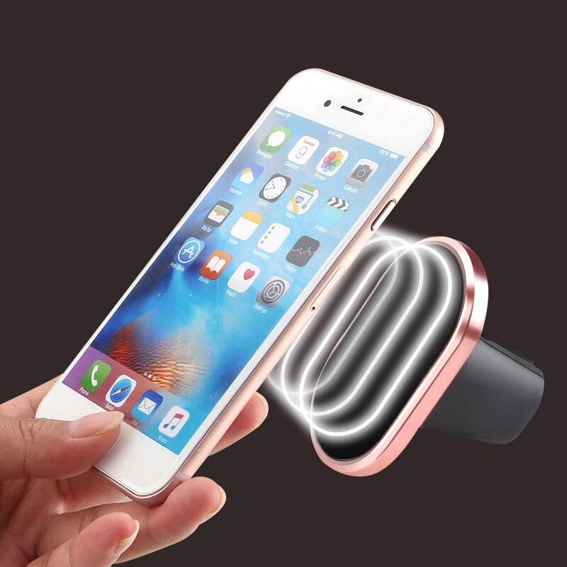 Магнитный автомобильный держатель телефона Air <font><b>Vent</b></font> магнит сотовый телефон Подставка для GPS iPhone 6 HTC Car Kit Универсальный