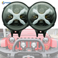 Round 6 inch led Offroad work light 12V/24V auxiliary lights front lamp Daytime runing lights for Jeep ATV SUV UTE 4X4