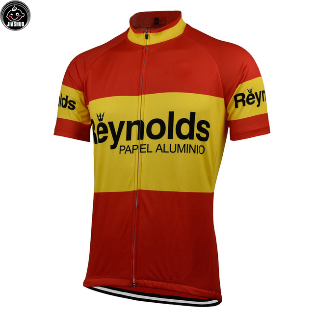 47b1143dd Multi Chooses Classical NEW Retro pro Bike Team Cycling Jersey Breathable  Customized Jiashuo