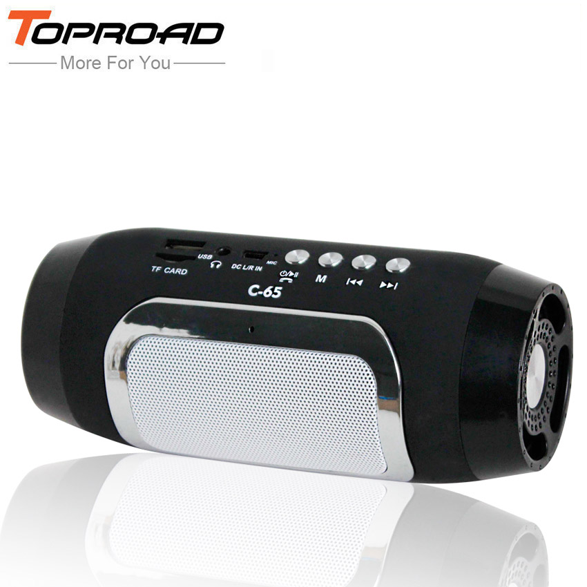 TOPROAD Bluetooth Speaker Wireless Column Colunas Speakers for Computer caixa de som Support TF FM Radio Soundbar Loudspeaker(China)