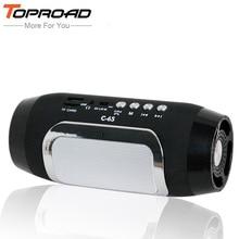 TOPROAD Altoparlante Senza Fili di Bluetooth Colonna Colunas Altoparlanti per Computer caixa de som TF di Sostegno di FM Radio Soundbar Altoparlante