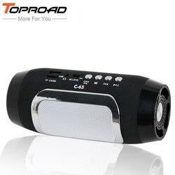 TOPROAD Bluetooth колонка, Беспроводная колонка Colunas, динамик s для компьютера, caixa de som, поддержка TF, fm-радио, саундбар, громкий динамик