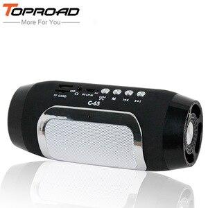 Image 1 - TOPROAD Bluetooth Speaker Wireless Column Colunas Speakers for Computer caixa de som Support TF FM Radio Soundbar Loudspeaker