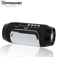 سماعات بلوتوث للأعمدة اللاسلكية من TOPROAD سماعات لأجهزة الكمبيوتر caixa de som تدعم TF راديو FM مكبر صوت