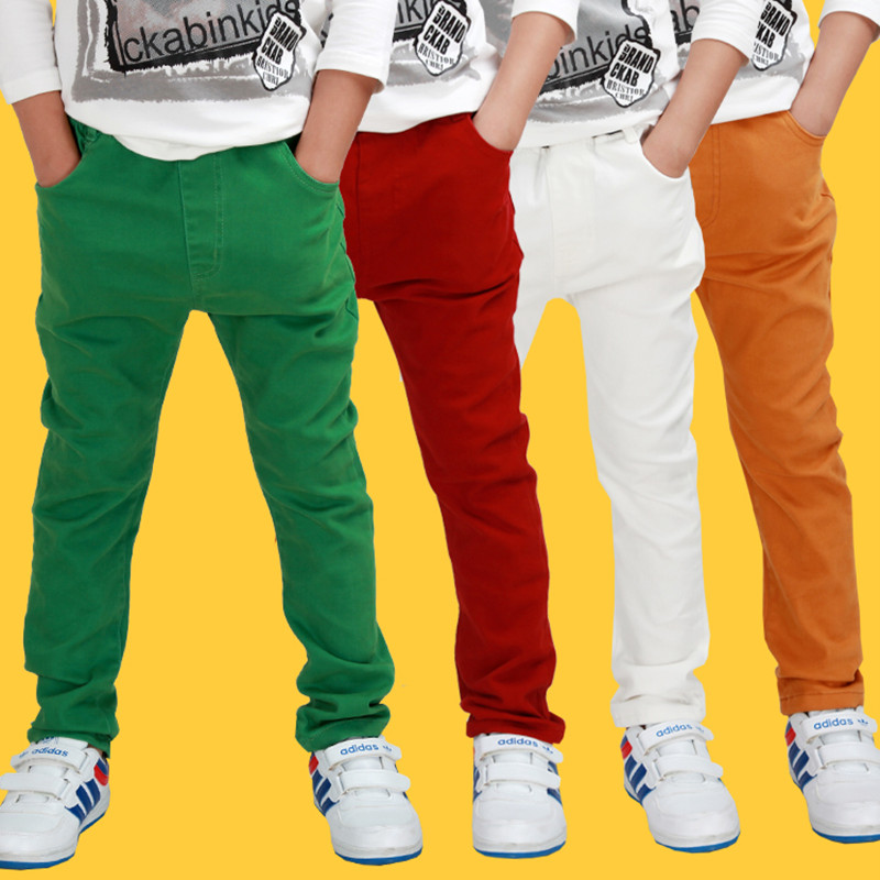Popular White Trousers Boys-Buy Cheap White Trousers Boys lots ...