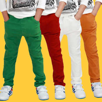 Children's clothing pants cottonkids trousers boys spring autumn thin pants fashion claretred humpbacks dark green white casual - DISCOUNT ITEM  27% OFF All Category