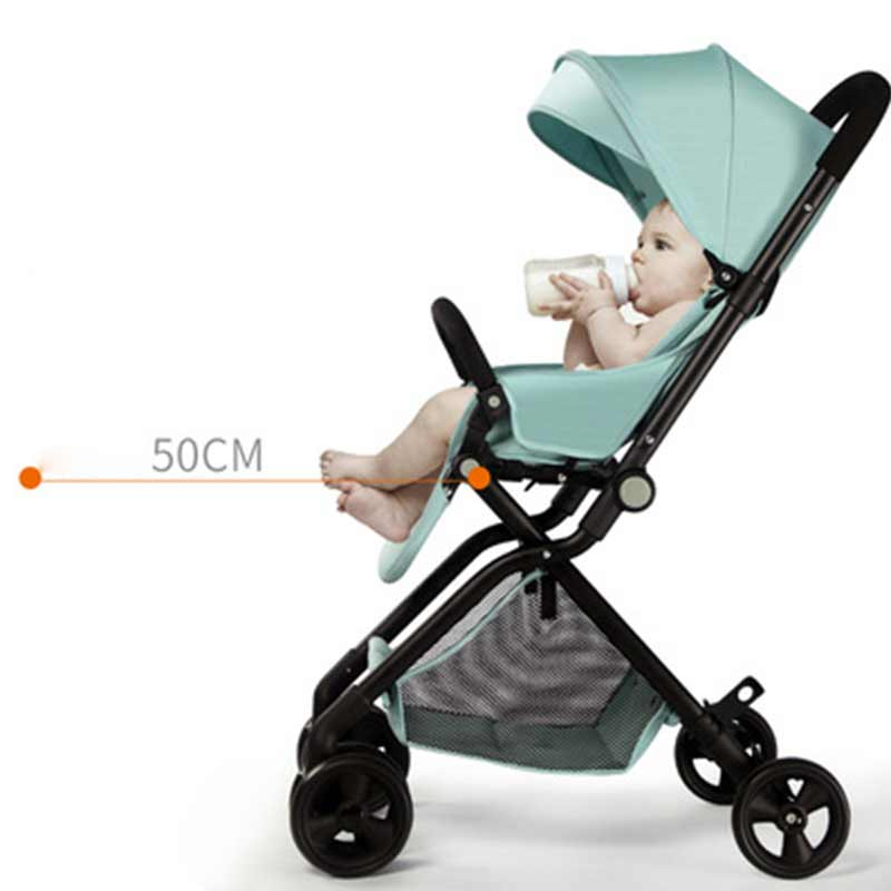 Baby Stroller Bed  Children's Chair Kids Car Trolley Folding Carriage Bed BeBe Stroller Buggy Chair