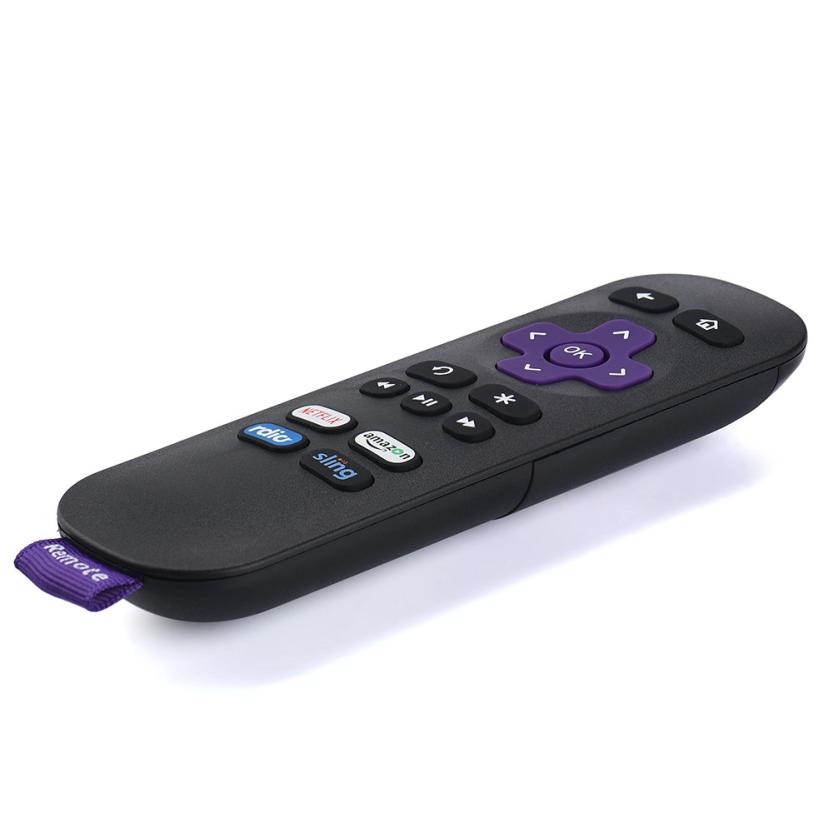 New Replacement Remote For Roku 1 2 3 4 Lt Hd Xd Xs With 4
