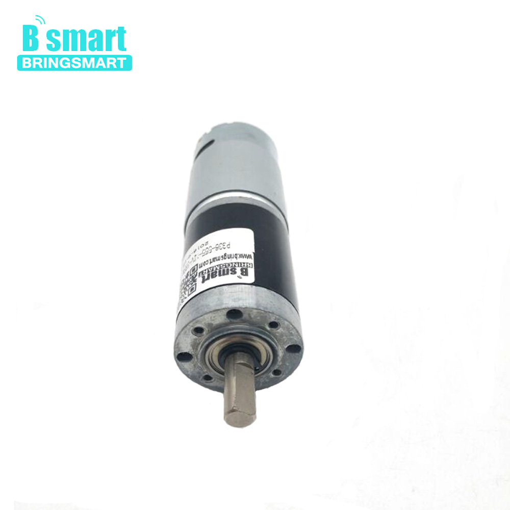 Bringsmart DC Small Reduction Motor PG36-555 High Torque 12v DC Gear Motor Low Speed Planetary Reducer Micro Electric MotorBringsmart DC Small Reduction Motor PG36-555 High Torque 12v DC Gear Motor Low Speed Planetary Reducer Micro Electric Motor