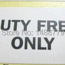 1000 этикетки/лот DUTY FREE только 25x15 мм Самоклеящиеся наклейки Пункт № yu08
