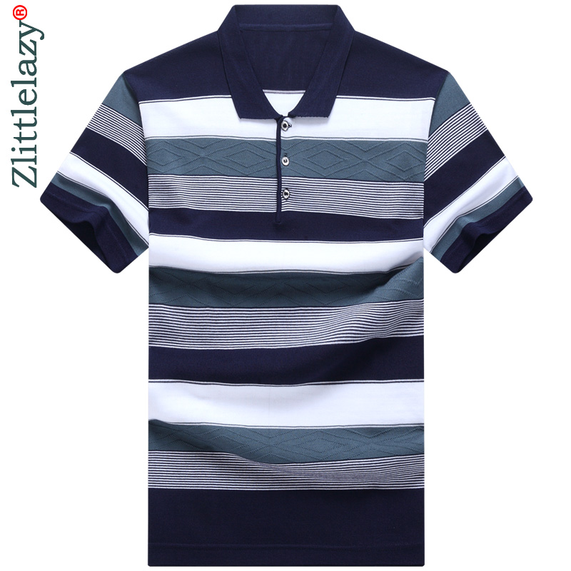 2019 short sleeve summer   polo   shirt men striped streetwear   polos   shirts mens dress tee shirt poloshirt camisa pol clothes 6122