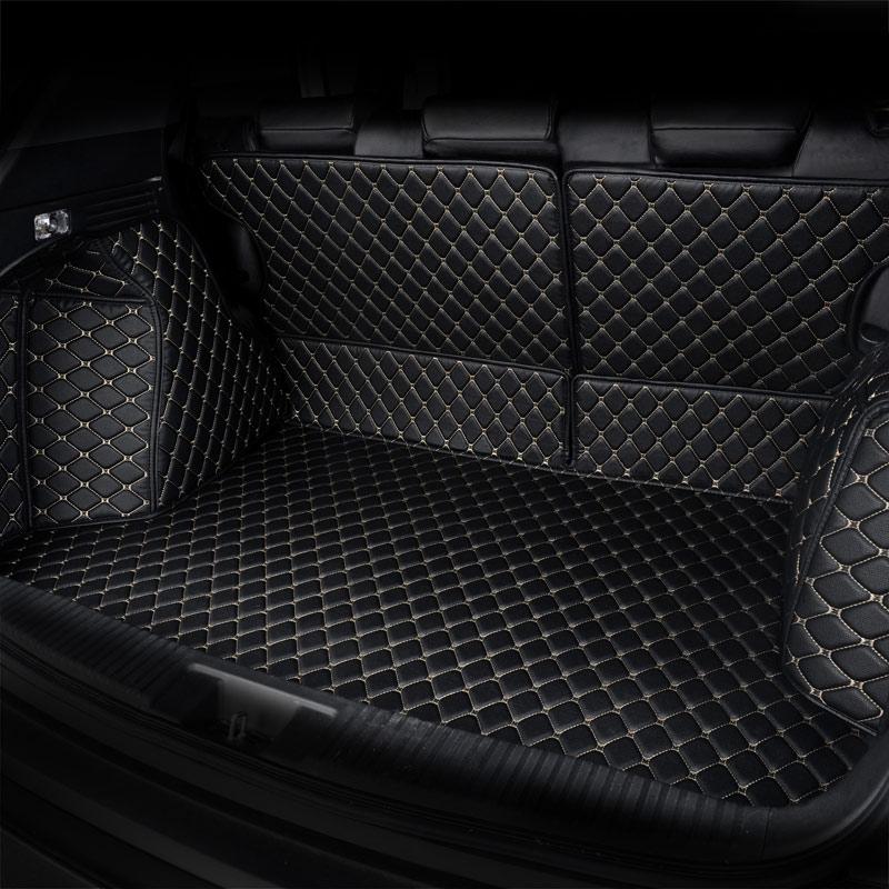 car boot trunk mat cargo liner auto accessories for audi a3 sedan sportback a7 q3 q5 q7 a4 b5 b6 b7 b8 a6 c5 c6 c7 sq5