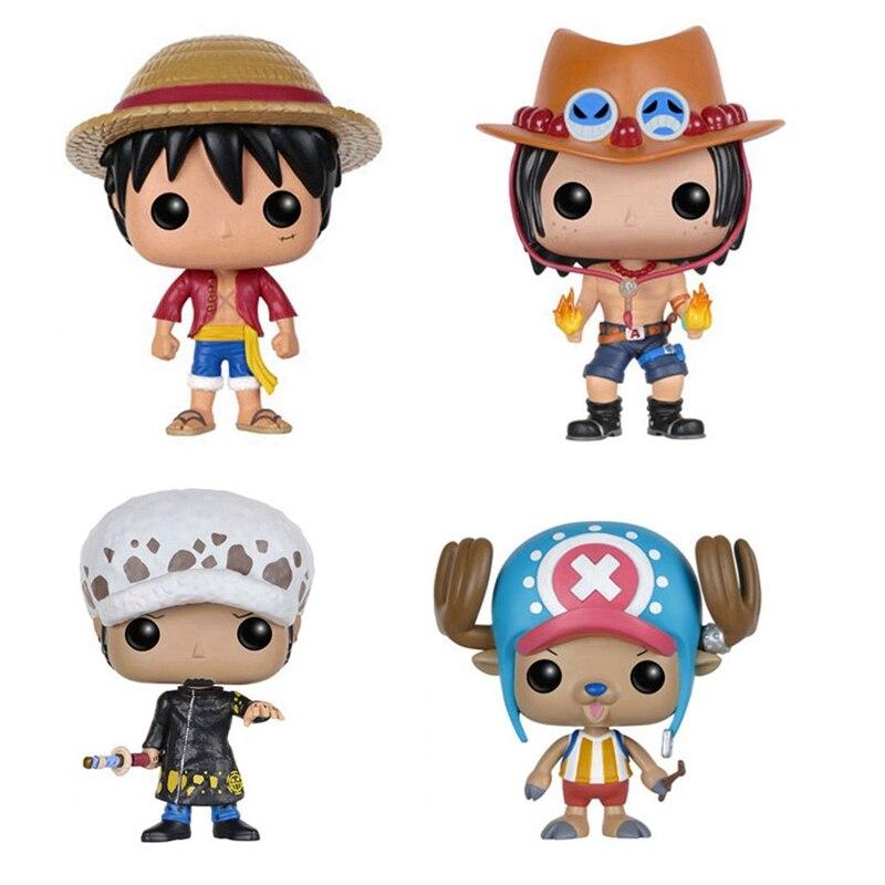 One Piece Luffy Tonytony Chopper Portgas D ACE Trafalgar LAW Action Figures Toy Kids Gifts Doll