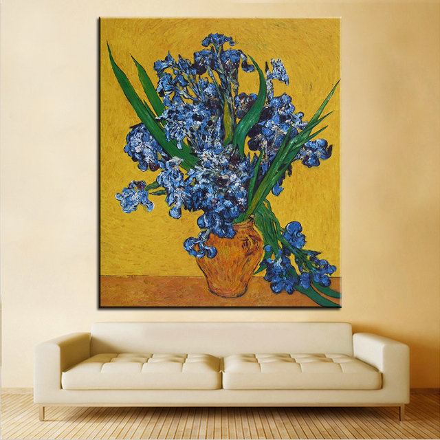 Best DPARTISAN print no 259 flower wall painting Amazing oil ...
