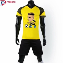 99f8e24c07c Diy Customize men Breathable 2018 2019 Soccer Jerseys 11 Marco Reus cartoon Uniforms  Football Kit Shirt for fans gift
