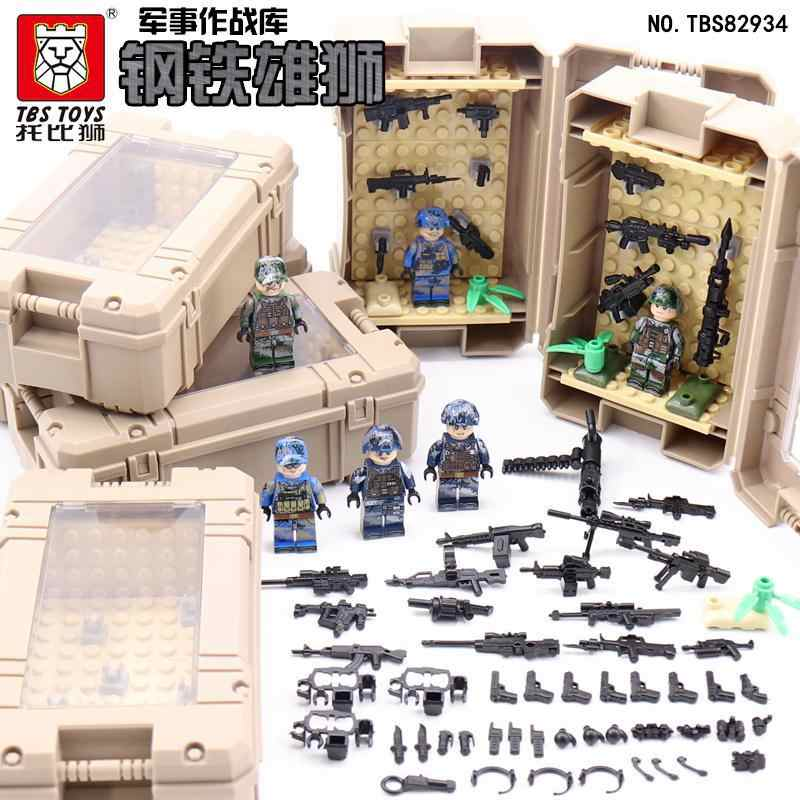 Military building blocks War games TBS82934 arsenal of weapon accessories blocks compatible with Legoe for gift