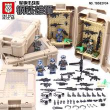 Military building blocks War games TBS82934 arsenal of weapon accessories blocks compatible with Legoe for gift(China)