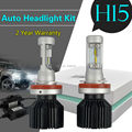 Taitian Pair 50W 8000LM H15 LED Headlight 16pcs Bulb Kit Hi/Lo Beam White 6500K
