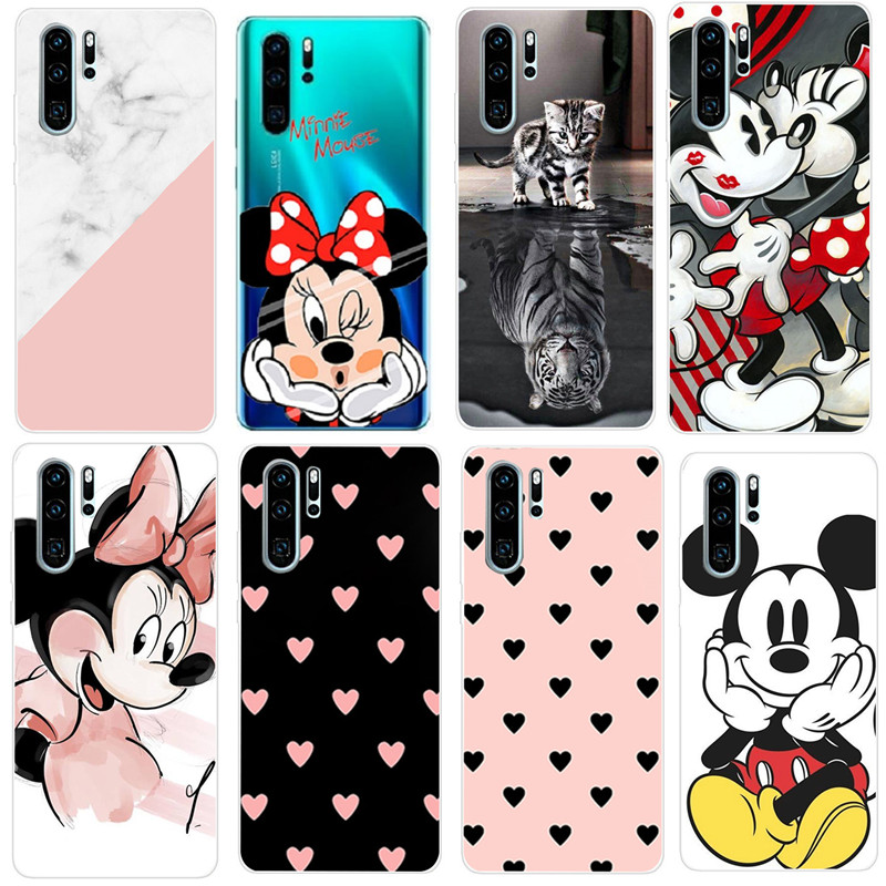 For Case Huawei P20 Lite Case Soft Silicone Back Cover Phone Case For Huawei P10 Mate 20 P Smart 2019 P30Lite P 30 P30 Lite Pro