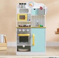 Мини кухня детская игровой дом Моделирование кухня Детские Приготовление Риса Для мальчиков и девочек Пособия по кулинарии настольная Ими