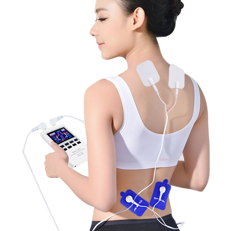 Multifunction Electrical Stimulator Full Body Relax Muscle Therapy Massager LCD Pulse Tens Acupuncture Electric Body Massager electrical muscle stimulator body relax therapy massage device electric pulse tens acupuncture digital meridian massager 10 pads