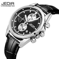 JEDIR 6 Hands Chronograph Function Men's Watches Top Brand Luxury Sports Watches Men Clock Male Quartz Watch relojes 2016 New