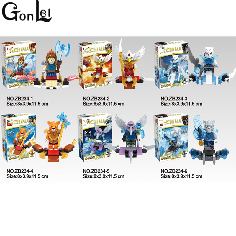 GonLeI 6pcs/lot Marvel Super Heroes knight chimaed dolls Building Blocks Toys Gift фотообои marvel marvel comic heroes 3 68х2 54 м