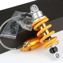 Motorcycle Rear Shock Absorber Gas Shock For Msx125 Grom Nitrogen double damping adjustable Monkey Ktm Dirt Bike Yamaha  Kawasak стоимость