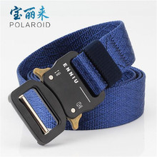 Tactical Belt ENNIU Nylon Outdoor Sports 3.2cm Military Adjustable with Metal Buckle Hunting Accessories