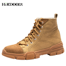 Military Leather Combat Boots for Men Combat Boot Infantry Tactical Boots Askeri Army Boots Male Army Outdoor Shoes купить недорого в Москве