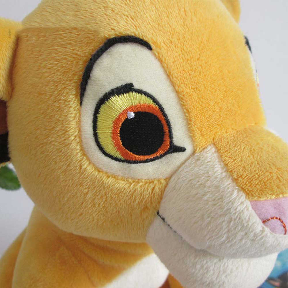 2019 The Lion King Plush Toy 26cm Simba Soft Stuffed Animals Doll Gift Model Figure Action Figures Classic Toys