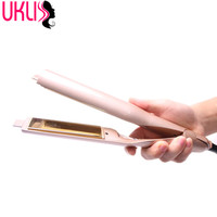 High Quality Hair Straightener Brush Comb Electric Degital Control Straightening Brush LCD Display Ceramic Straight Brush