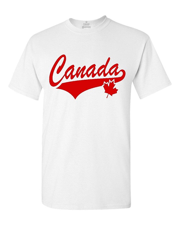 best authentic 0152b 63607 US $13.04 13% di SCONTO|Canada foglia t shirt bandiera canadese camicette  100% cotone maglietta delle donne degli uomini magliette e camicette t  shirt ...