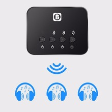3-in-1 Bluetooth Transmitter Stereo Music Receiver Bluetooth 4.0 Wireless Audio Adapter For TV Home Car Stereo System