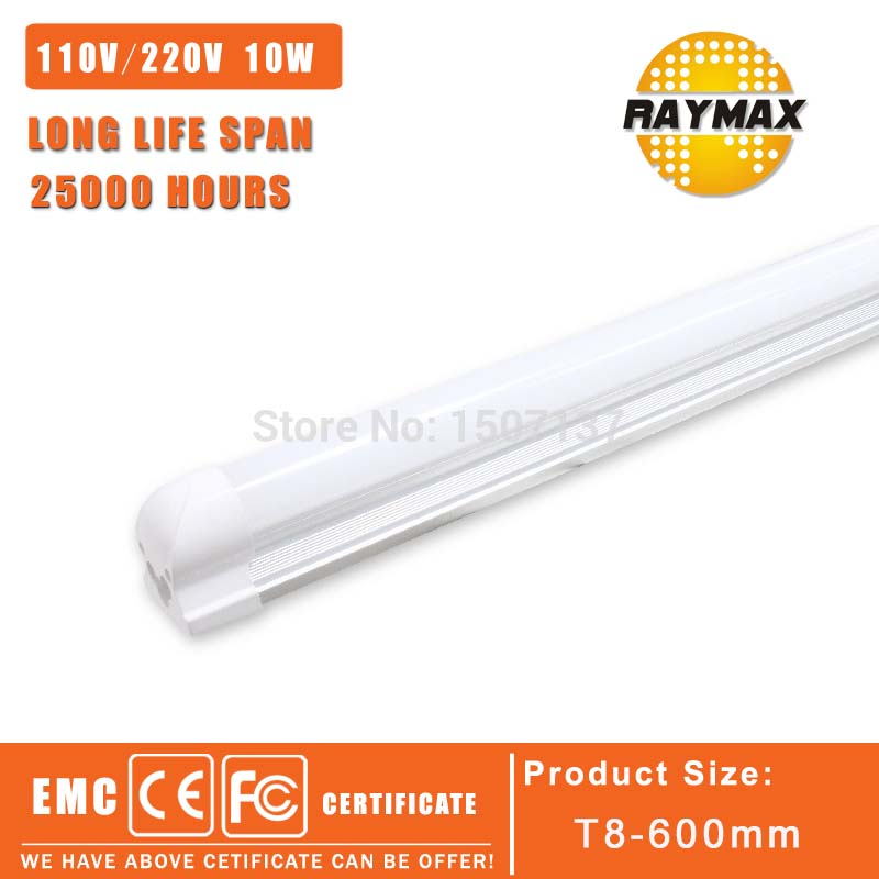 t8 Integrated led tube bulb light t8 4ft 6ft led tube light t8 tubo120cm 60cm AC85-265V led fluorescent t8 10w 18W 22W 6PCS/LOT t8 led tube 1200mm light 18w120cm 4ft 1 2m g13 with holder fixture high power smd2835 fluorescent replacement 85 265v