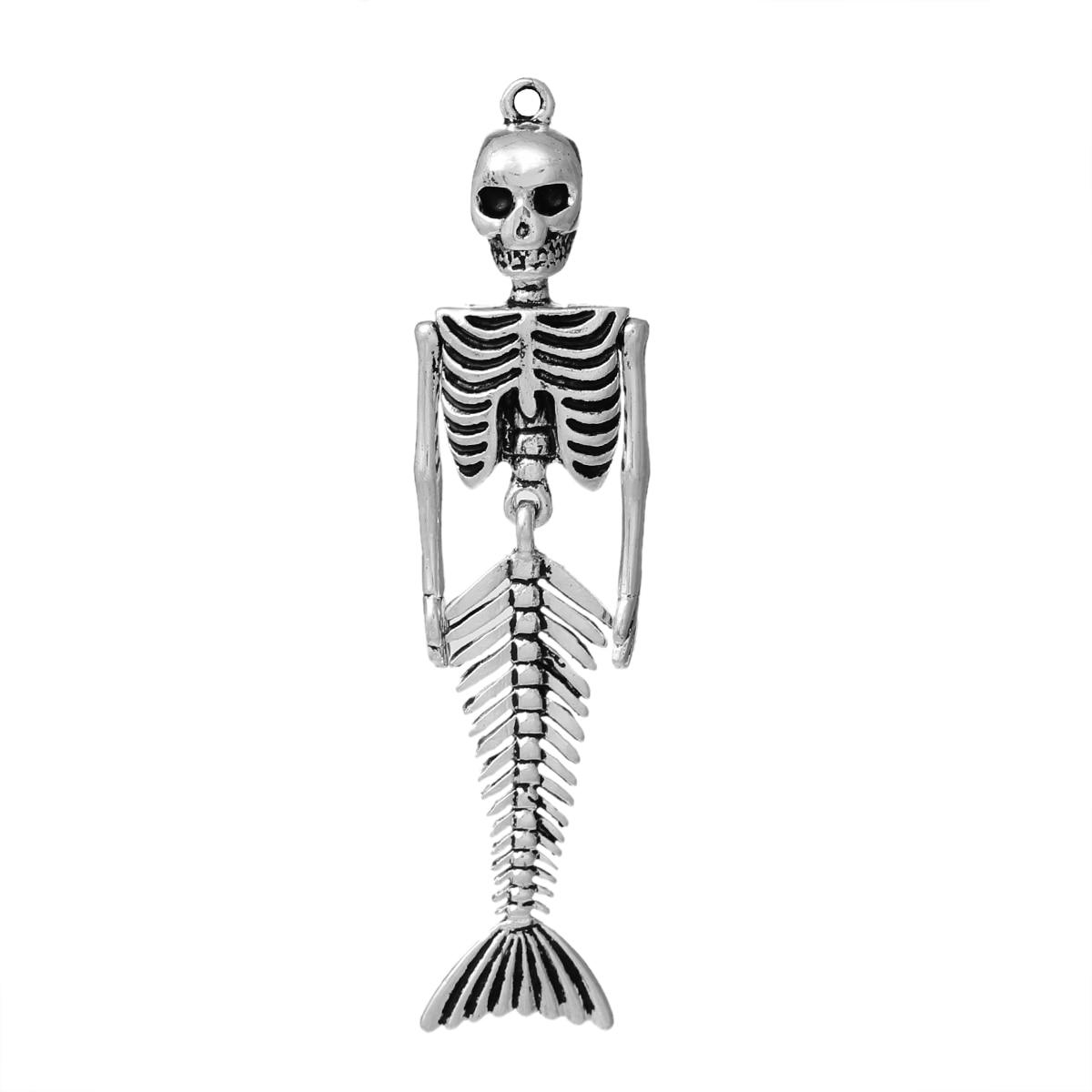 8SEASONS Body DIY Toy Doll Making Charm Pendants Skull
