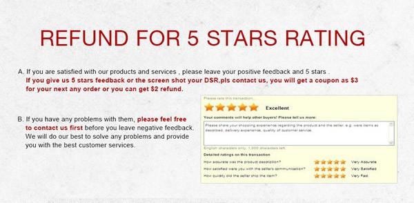 5 Star feedback note 600 px