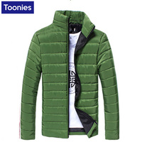 Warm Winter Male Jacket Men Zipper Coat For Male Thick Slim Men S Winter Jackets Plush