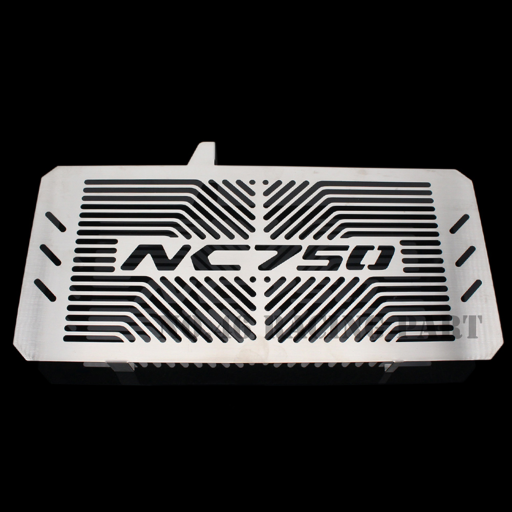 Silver Motorcycle Accessories Radiator Guard Protector Grille Grill Cover For HONDA NC750 /S/X NC750S NC750X NC 750/750S/750X