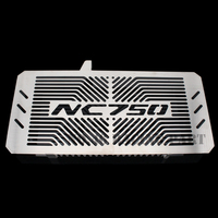 Silver Motorcycle Accessories Radiator Guard Protector Grille Grill Cover For HONDA NC750 S X NC750S NC750X