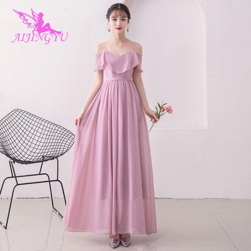 AIJINGYU 2018 girl sexy wedding party   bridesmaid     dresses   short formal   dress   BN595