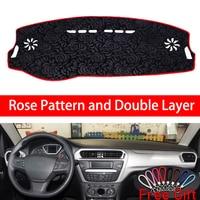 Rose Pattern For Citroen ailice 2014 2015 2016 2017 2018 2019 Car Stickers Car Decoration Car Accessories Interior Car Decals